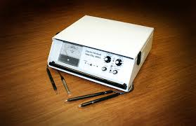 Stim Flex 400 used for ear acupuncture or auriculotherapy in Novato, CA
